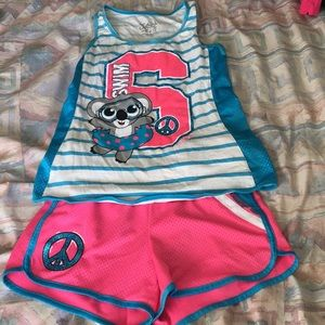 "Girl's Justice ""Swim"" Active Outfit"